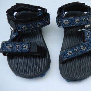 NWT TEVA Inversion Boys Sandals sz 12 water proof